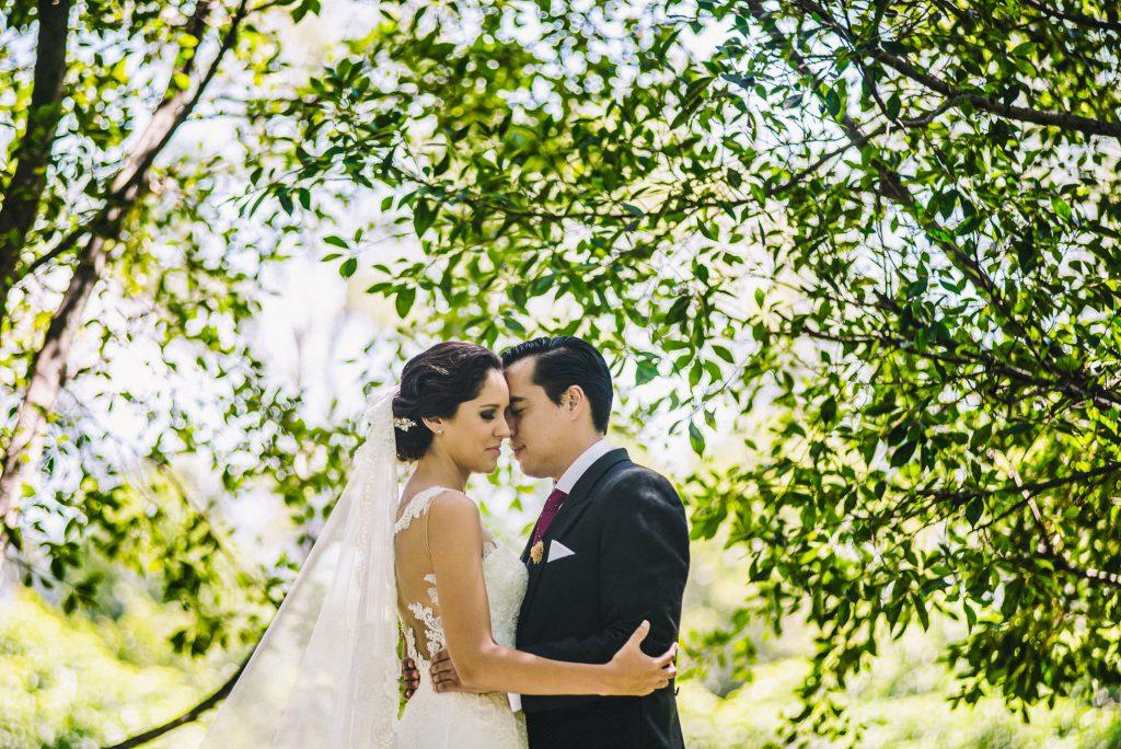 Foto de boda en Quinta Rubelinas
