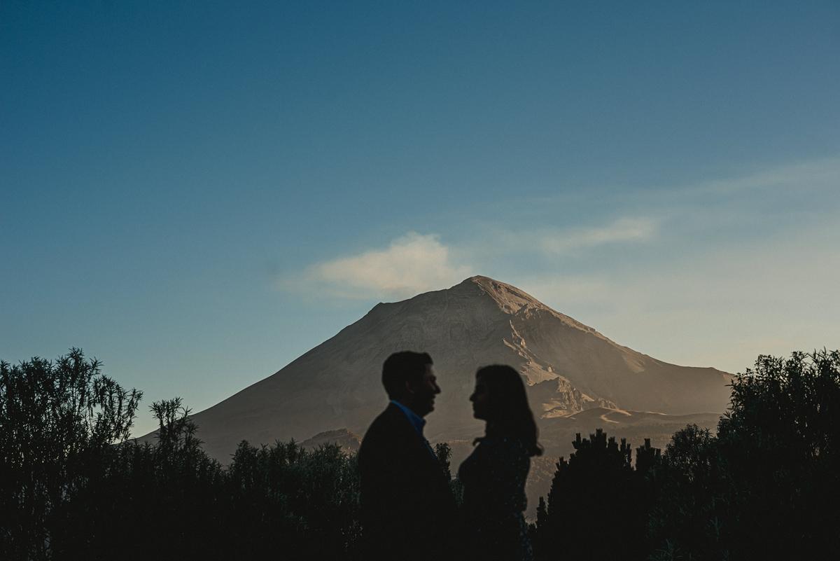 sesión de fotos en los volcanes