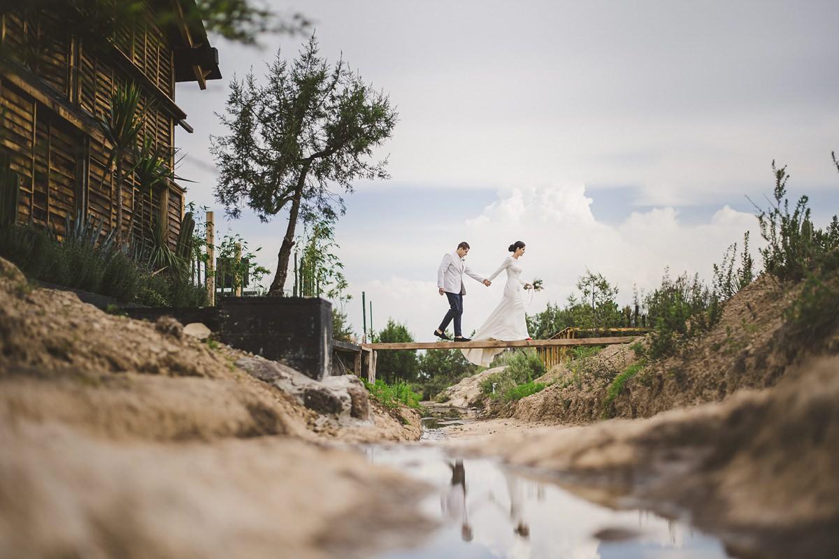 Hermosa locación para fotos de boda, Japoneza Retreat